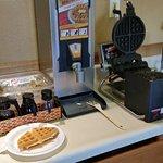 Waffles for brekky