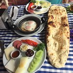 Amazing Turkish Breakfast all home grown and freshly cooked!! Perfect ❤️