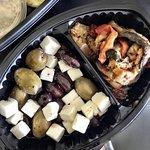 Muy buena ensalada griega! El queso feta el mejor!