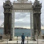 at Dolmabahçe Palace