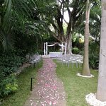 Jardín para boda civil