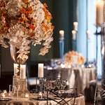 The Ritz-Carlton, Cleveladn Silver Grille Wedding Flowers