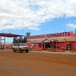 Pink Roadhouse en Oodnadatta