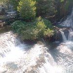 Waterfalls & sunlight