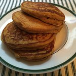 Pumplin Pancakes on the menu