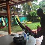 Everyone loves the hammocks