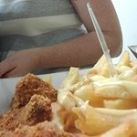 Fries portion with Curried Yogurt and Crispy chicken benefits
