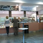 Caffe Centrall at the Vatican Museum --- early morning, empty.
