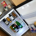 mini bar in the living room