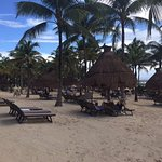 Nice beach area
