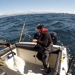 Halibut fishing with Shawn