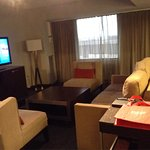 Our suite at the hotel