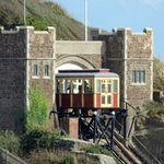 View of East Cliff Railway