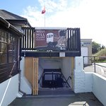 The Cafe is at the top of the West Hill Cliff Railway