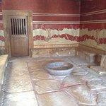 Miesto stretávania sa obyvateľov s panovníkom v Knossose