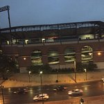View of Camden Yards from our room!