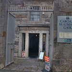 Entrance to the gaol, showing date 1829