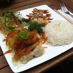 The Crispy Tofu Plate