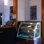 Counter and cabinet