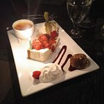 Dessert Sampler - Excellent selection, very yummy and reasonably priced.