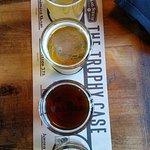 Trophy Case Beer Sampler...