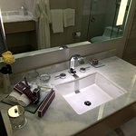 Sink in master bathroom.