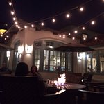 Outside Dining Area of Coastal Grill