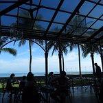 Beautiful breakfast patio