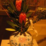 One of the florial arrangments that emulate the art.
