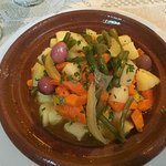 Tagine chicken w/ vegetables