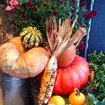 Beautiful fall display!