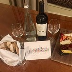 See my review. Lovely complimentary package from hotel manager