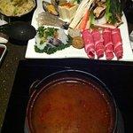 hot and spicy shabu shabu