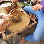 Making our pottery !