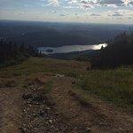 Vista desde la cumbre de la montana