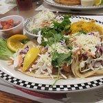 Fish Tacos, Black Bear Diner, Milpitas, CA