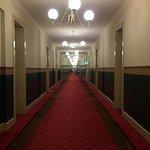 Very wide and long walkways