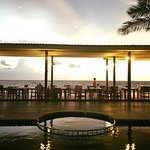 Drink at Beach Bar and see sunset
