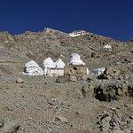 Sacred Chortens of the Shanti Stupa