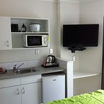 kitchenette in upstairs studio room
