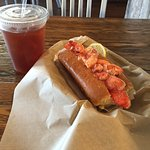 Lobster Roll and Tea