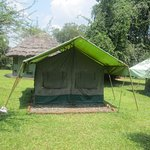 a tented camp for double occupancy