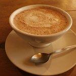 Soy milk hot chocolate