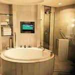 Bathroom will excellent amenities