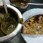 Saag meat was like velvety smooth and awesome taste with kulcha