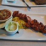 chicken satay. really nice.