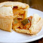 Vegetable Curry Pie is a hit with our families