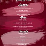 Our new Christmas menu for this year, ring 01295 780070 to book your party!