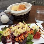 Apple, carrot and beetroot salad - delicious!