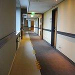 corridor to apartment